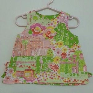 EUC Baby Lilly Pulitzer Dress, 6-12 Months